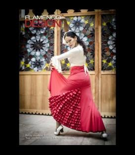 Falda Flamenca profesional Modelo 7 lycra
