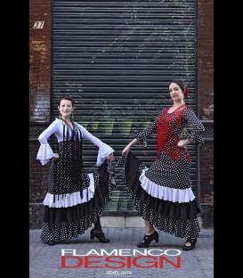 Falda Flamenca profesional Modelo 22 lunares