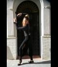 Pantalón de flamenco para ensayo negro