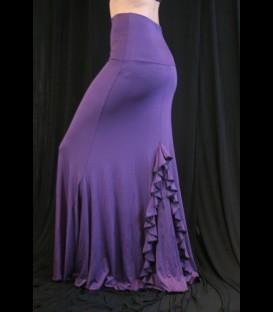Falda de ensayo flamenco modelo 4/a lycra fina