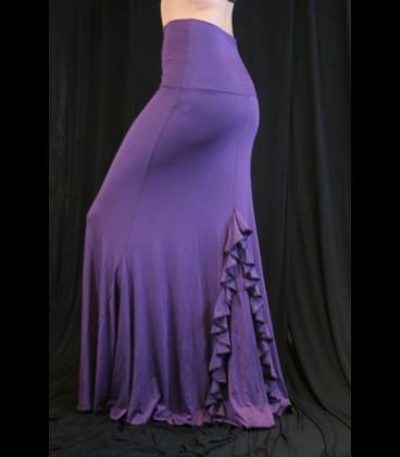 Falda de ensayo flamenco modelo 4/a viscosa