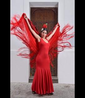 Vestido de flamenco profesional Yerbabuena lycra