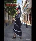 flamenco skirt professional modell 12 rush lycra
