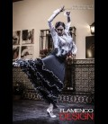 Professional flamenco skirt modell 17 lycra