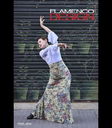 Profesional Flamenco Skirt Minivolantes Special edition