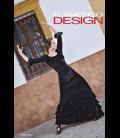 Professional flamenco SET Modell Sol velvet