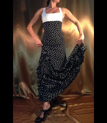 Falda de flamenco profesional モデルカルメン