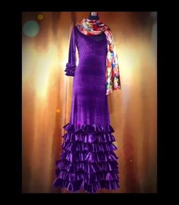 Professional flamenco dress alegrias rush