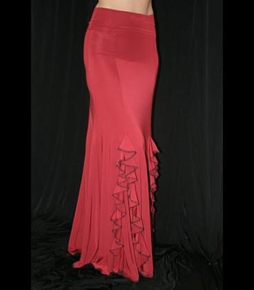 Falda de flamenco de ensayo modelo 2/b lycra