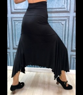 Falda flamenca ensayo modelo Pampa
