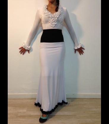 Flamenco skirt Modell 9 rush lycra