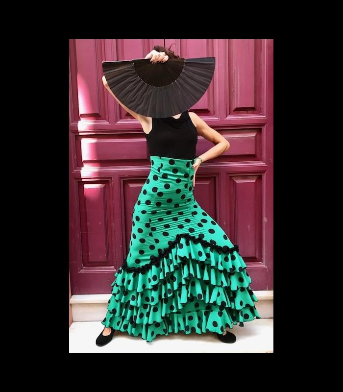 47e16828e Falda flamenca profesional modelo Carmensol