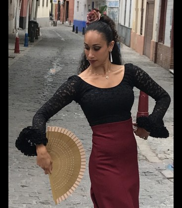 blusa lycra-lace rush