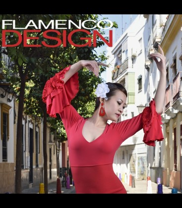 Top de flamenco SOL lycra