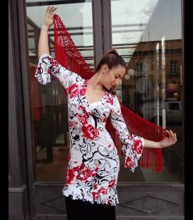 Tunica flamenca flor