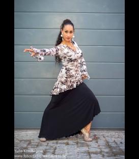 Tunica flamenca sepia