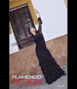 Conjunto flamenco profesional modelo Sol lycra