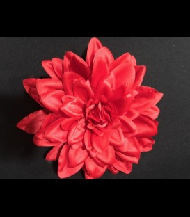 Large flamenca flower in red color