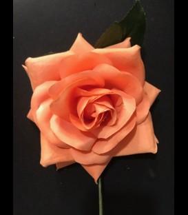 Flor flamenca naranja