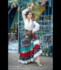 Falda flamenca profesional modelo Sevilla limited edition