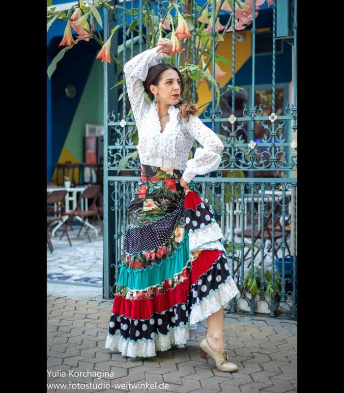d9d44d54d Falda flamenca profesional modelo Sevilla limited edition