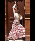 Falda de flamenco profesional モデルカルメン Carmensol tulipan