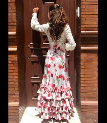 Falda flamenca profesional modelo Carmensol tulipan