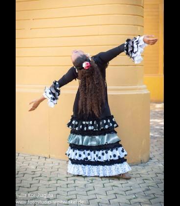 Vestido de flamenco prodfesional Modelo Lolaflores