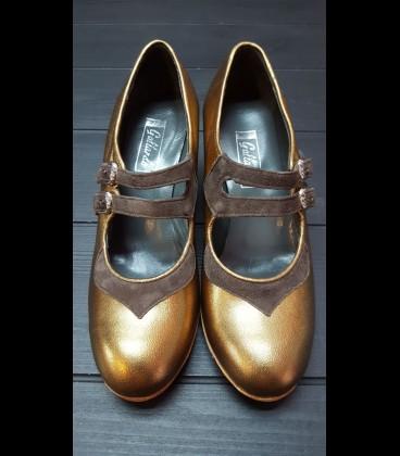 Zapatos Mercedes Gallardo Bronce