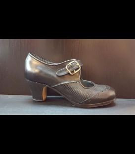 Zapatos Luna Flamenca Negros