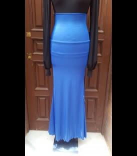 Falda 12 Ancho azul