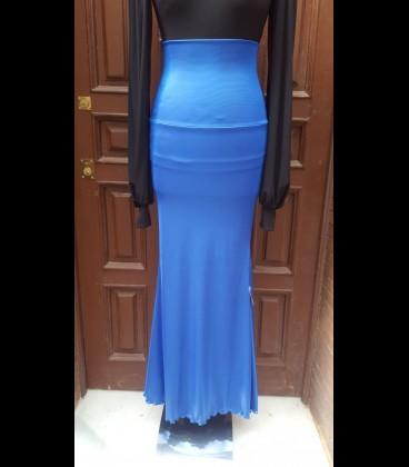 Flamenco skirt 12 Ancho azul