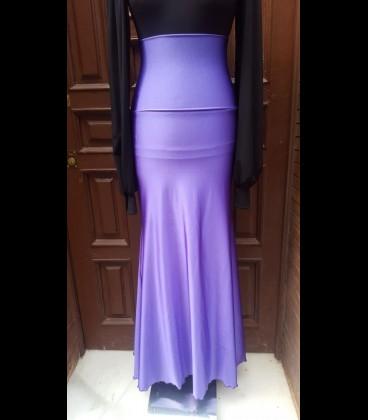 Flamenco skirt model 7 violet