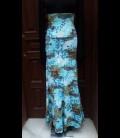 Falda modelo 4/a estampada azul claro