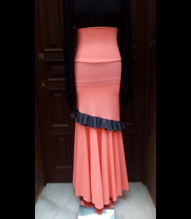 Flamenco skirt model 10A pink