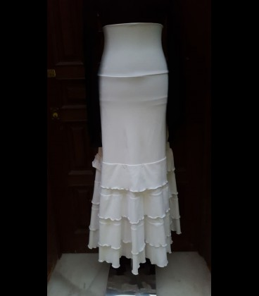 Falda Amor blanca