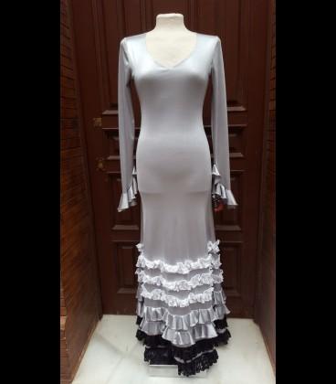 Vestido Alegría plata