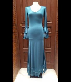 Flamenco dress 7 Sencillo teal