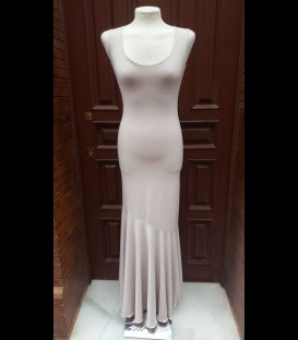 Flamenco dress Model 3 light beige