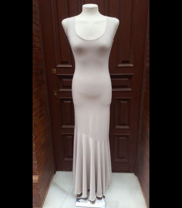 Vestido de flamenco Modelo 3 beige claro