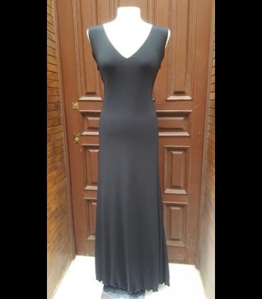 Vestido de flamenco 7 Sencillo negro