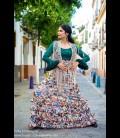 Falda flamenca Carmen 4 volantes