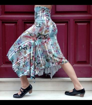 Falda flamenca Pampa estampada
