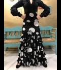 Flamenco skirt Amanecer velvet