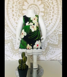 Jungle dress cotton
