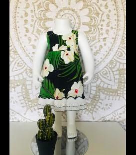 Vestido Jungla para niñas algodon