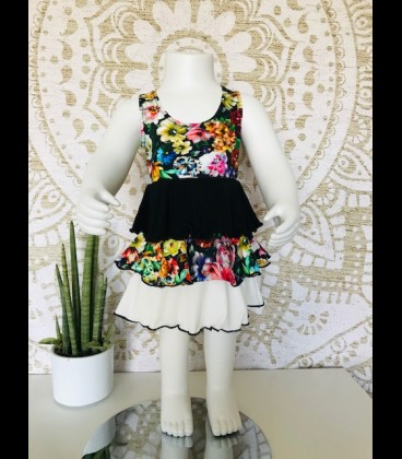 Girls casual dress cotton