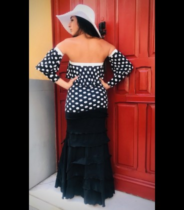Blusa flamenca Rita lunares