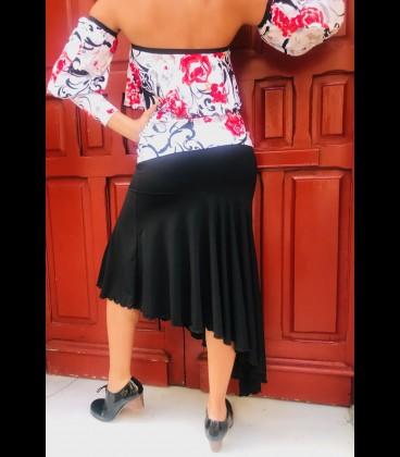 Short flamenco skirt Luna for practise