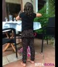 Pantalon hippie con volantes OTOÑO